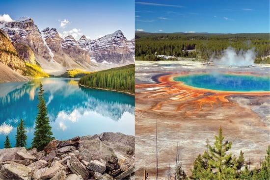 Super traversée du Canada & des États-Unis 20 jours