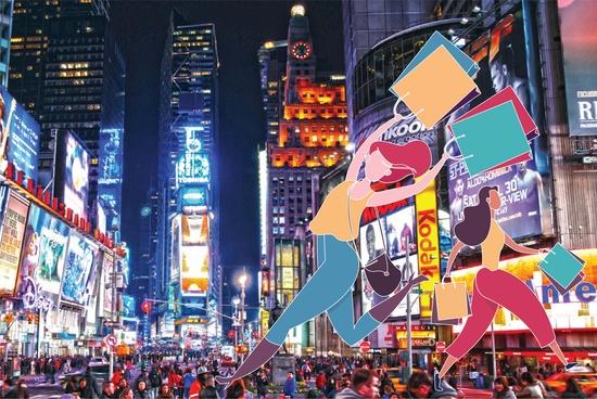 Black Friday New York Shopping 3 Days