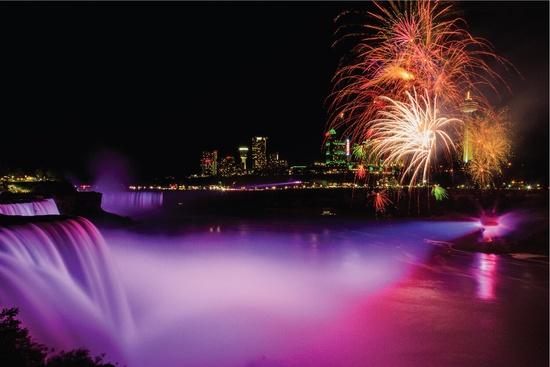 2020 Nouvel An Compte à rebours aux Chutes du Niagara & Toronto 3 jours