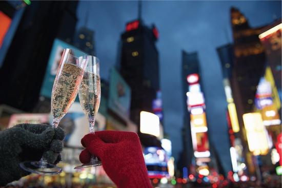 2020 Nouvel An Compte à Rebours à New York 4 Jours Guidés