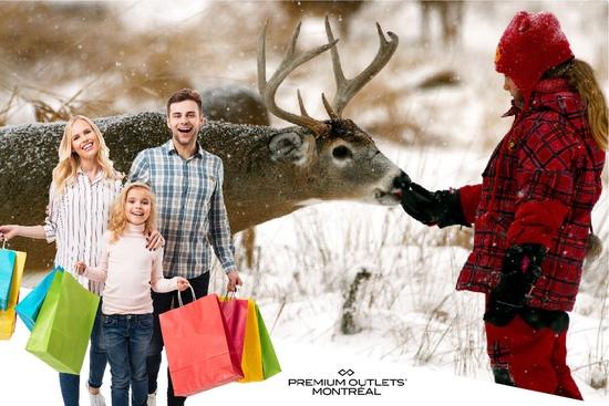 Parc Oméga & Shopping Outlets 1 Jour