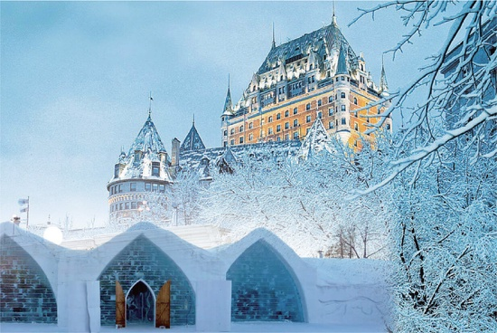 Quebec City & Ice Hotel 1 Day